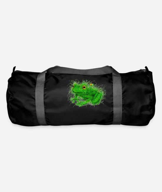 Frogs Bags & Backpacks - Grass Frog - Duffle Bag black