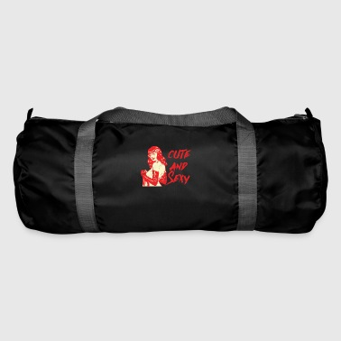 Rockabilly Pin-Up Girl / Rockabilly / 50s: Cute And Sexy - Duffel Bag