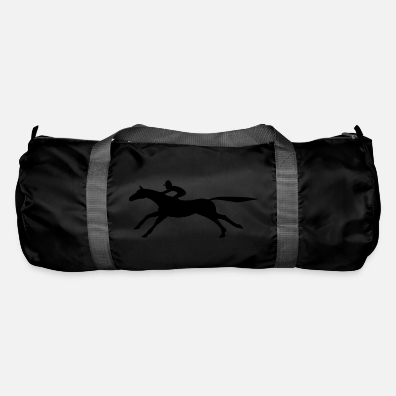 Horse Racing Bags & Backpacks - Horse Racing - Duffle Bag black