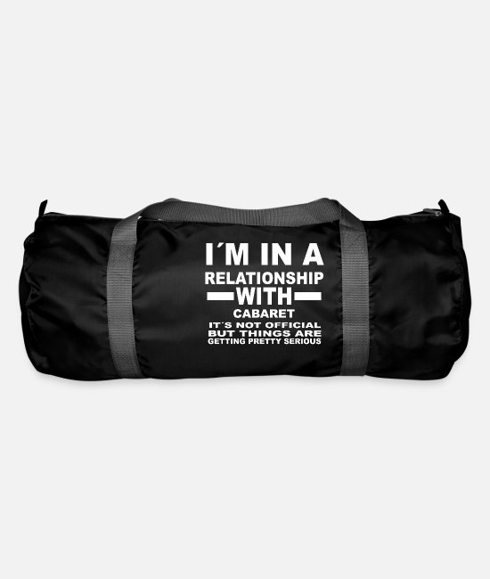 Birthday Bags & Backpacks - gift gift relationship birthday CABARET - Duffle Bag black