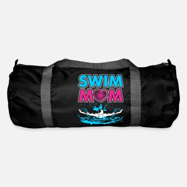Swim Swim Mom Gift for Mothers of Swimmers - Duffle Bag