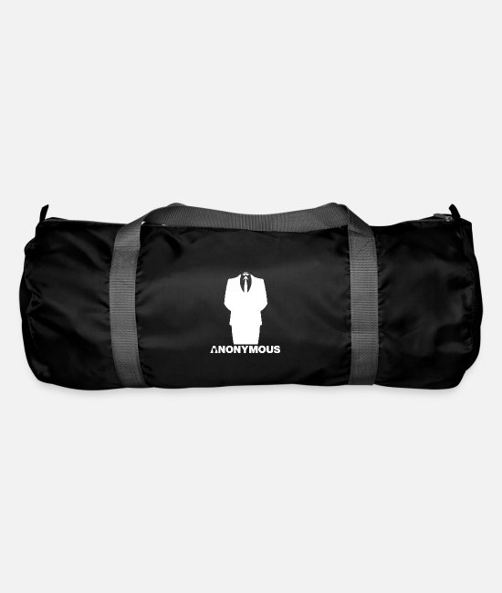 Obey Bags & Backpacks - Anonymous - We are legion - Expect us - Duffle Bag black
