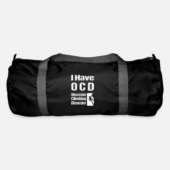 Climbing Bags & Backpacks - I have OCD Obsessive Climbing Disorder climbing - Duffle Bag black
