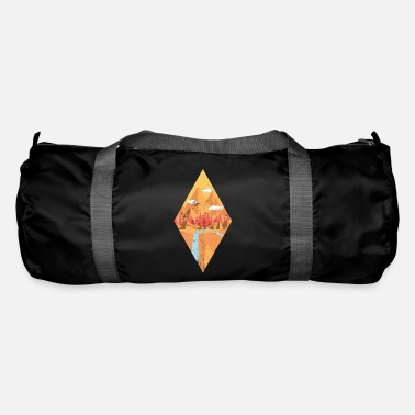 Nature Geometric nature - Duffle Bag