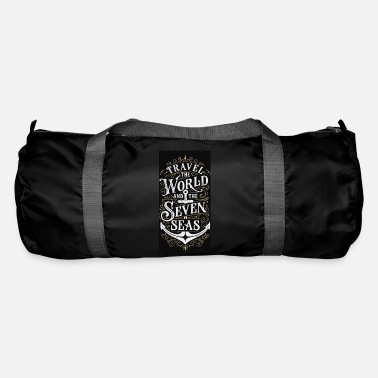 Travel the World Vintage art - Duffle Bag