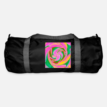Psychedelic Rose - Duffle Bag