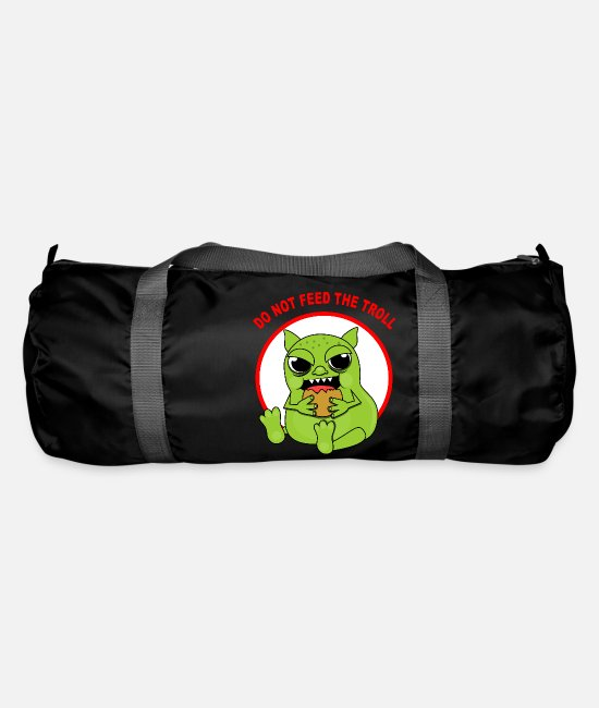 Geek Bags & Backpacks - Troll - Duffle Bag black
