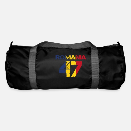 Love Bags & Backpacks - Football club team emm ROMANIA 47 - Duffle Bag black