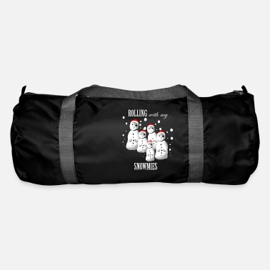Ugly Christmas Funny Gangsta Snowmen Ugly Christmas Sweater Funny - Duffle Bag