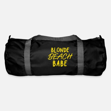 Beachy Blonde beach babe - Duffle Bag