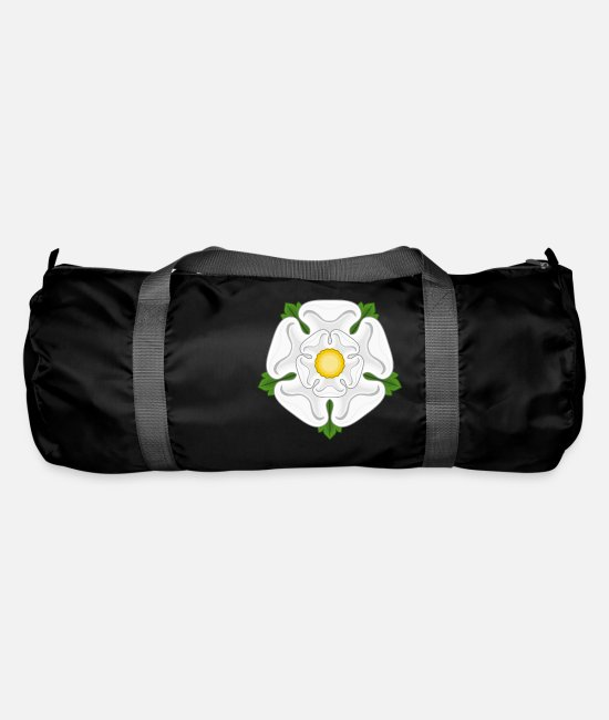 English Bags & Backpacks - White Rose of York Yorkshire - Duffle Bag black