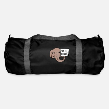 Save Elephants - Duffle Bag