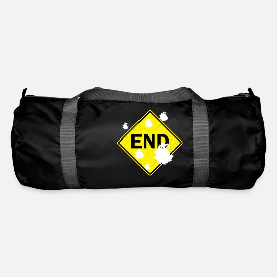 End Of The World Bags & Backpacks - END - Duffle Bag black