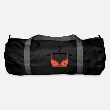 Shape Underwear Women's underwear on a clothes hanger - Duffle Bag