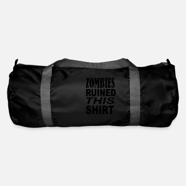 Swag Zombies ruined this shirt - Duffle Bag