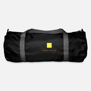 Pixel Pixel Art Self-Portrait - Asia - Duffle Bag