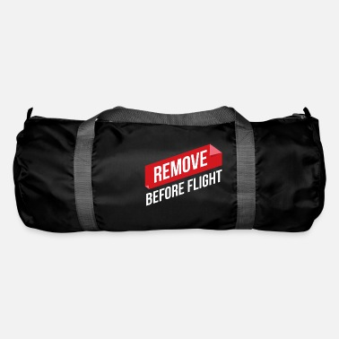 Christmas Remove Before Flight Pilot gift idea - Duffle Bag
