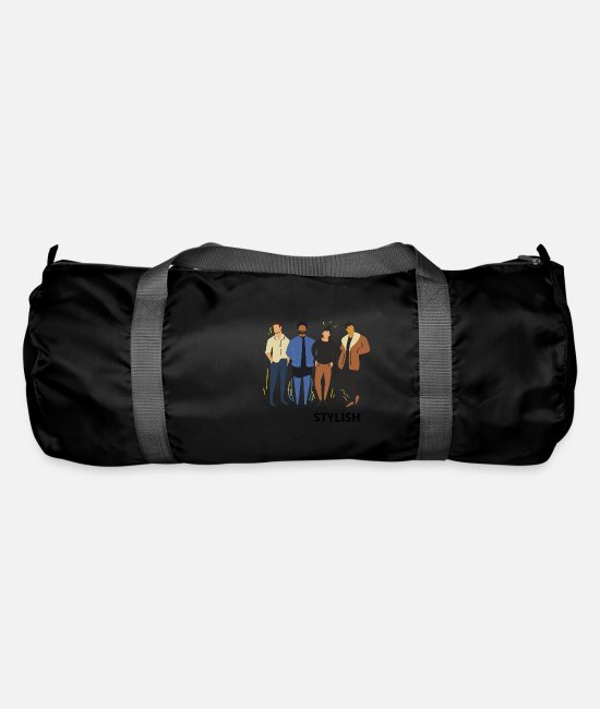 Hipster Bags & Backpacks - stylish - Duffle Bag black