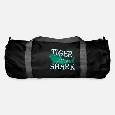 Son Fish Tiger Shark Danger Diver Gift - Duffle Bag