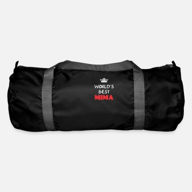 Mima Apparel Mima - World's best Mima - Duffle Bag