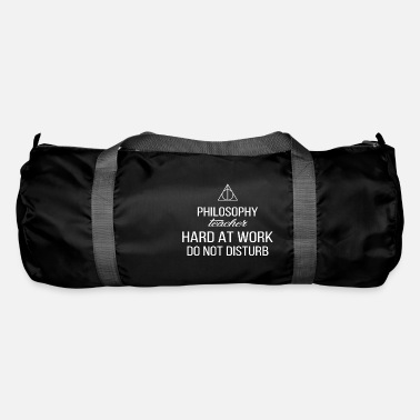 Philosophy Philosophy Teacher - Philosophy teacher hard at - Duffle Bag