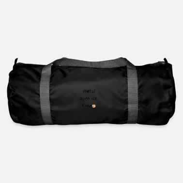 Shouter Metal open air festival time in summer - Duffle Bag