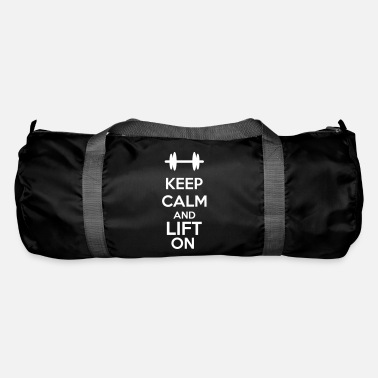 Bodybuilding Keep Calm And Lift On - Borsa sportiva