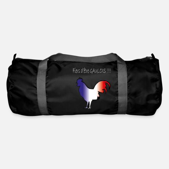 Granny Bags & Backpacks - coq gaulois blanc - Duffle Bag black