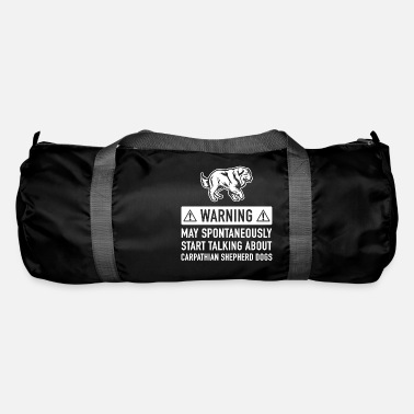 Carpathian Funny Carpathian Sheepdog Gift Idea - Duffle Bag