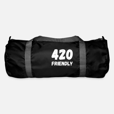 420 2018 420 Friendly - April 20 cannabis grass cannabis - Duffle Bag