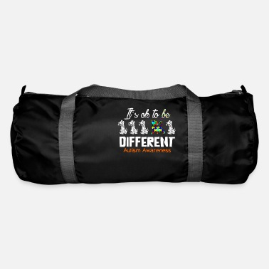 Ok Call for Attention About Autism - Duffle Bag