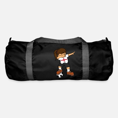 England England Soccer Ball Dabbing Girl British Football - Duffle Bag
