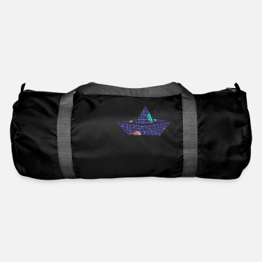 Space Ship Space paper ship - Duffle Bag