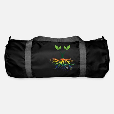 Nature Conservation Nature - Rainbow - Conservation - Roots - Duffle Bag