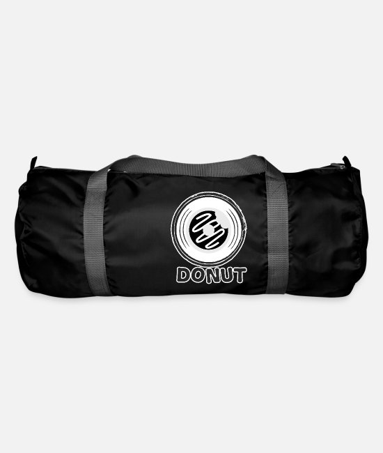 Cookie Bags & Backpacks - Donut Stylish - Duffle Bag black