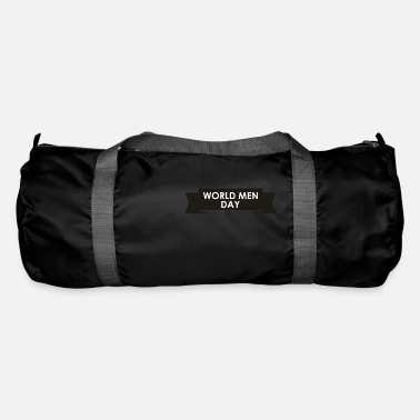Mens Day World Man Day / World Men Day - Duffle Bag