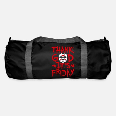Thank God it's Friday the 13th - TGIF Halloween - Duffle Bag