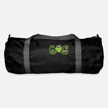 Root Crop Peace Love Gardening Horticulture - Duffle Bag