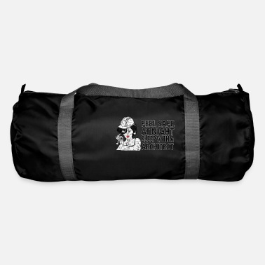 Safer Use You sleep safer next to an architect Used - Duffle Bag