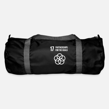 Sustainable 17 Partnerships for the goals Global Goals - Duffle Bag