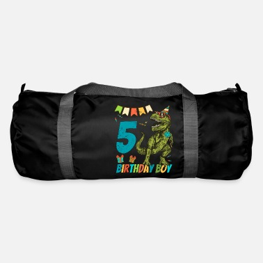 Childrens Birthday Party 5 Year Olds Childrens Birthday Boy Party - Duffle Bag