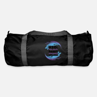 H2O Heart and Obsession swimming design. - Duffle Bag