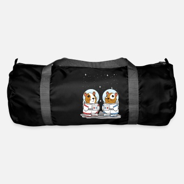 Cavy Guinea Pig Space Astronauts for Cavy Lovers - Duffle Bag