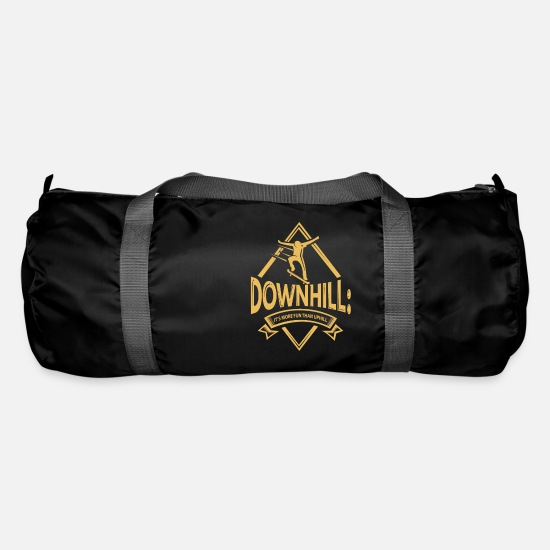 Play Bags & Backpacks - Skateboarding Winter Game - Duffle Bag black