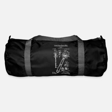 1915 Adjustable Wrench 1915 Patent Print Shirt, Wrench - Duffle Bag