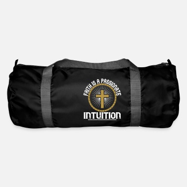 Chain Faith is a passionate intuition - Duffle Bag