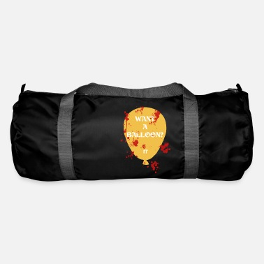 want a balloon bloody halloween - Duffle Bag