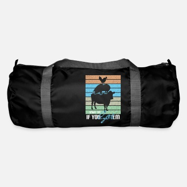 Hungry Smoke 'Em If You Got' Em - Meat Lover Gift - Duffle Bag