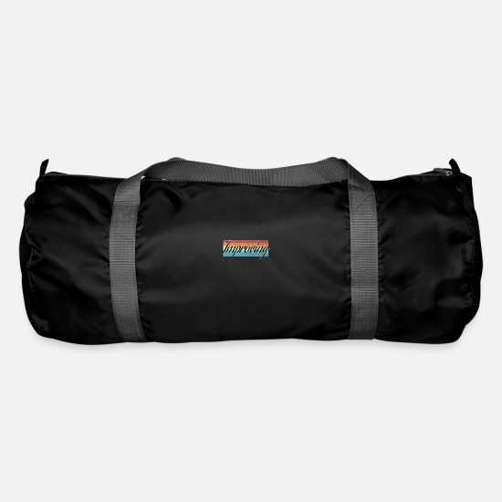 Body Builder Bags & Backpacks - Work Out - Duffle Bag black