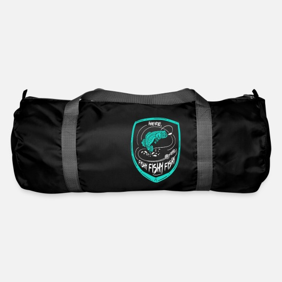 Pond Bags & Backpacks - Fishing Fishing Fishing - Duffle Bag black